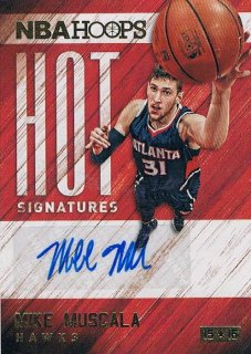 2015-16 PANINI HOOPS Hot Signatures Mike Muscale / MINT新宿店353 たか様