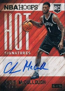 2015-16 PANINI HOOPS Hot Signatures Chris McCullough / MINT新宿店355 ともき様