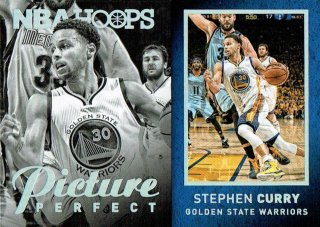 15-16 HOOPS Picture Perfect Stephen Curry えびすスポーツカード しんのすけ様