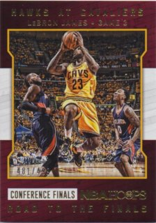 2015-16 PANINI HOOPS ROAD TO THE FINALS LeBron James 【499枚限定】 / MINT池袋店 SirCry様