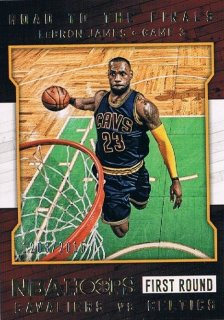 2015-16 PANINI HOOPS Road to the Finals LeBron James 【2015枚限定】 / MINT新宿店361 タナカ様