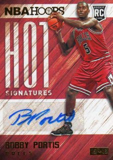 2015-16 PANINI HOOPS Hot Signatures BOBBY PORTIS /MINT仙台店 wen様