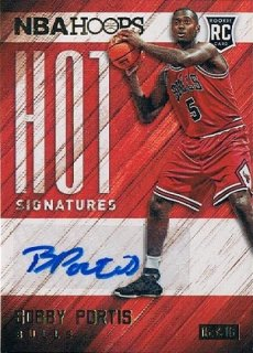 2015-16 PANINI HOOPS Hot Signatures Bobby Portis / MINT新宿店379 penny様