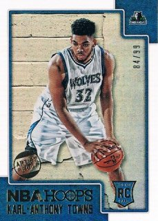 2015-16 PANINI HOOPS Artist Proof Karl-Anthony Towns 【99枚限定】 / MINT新宿店381 ハーレイ様