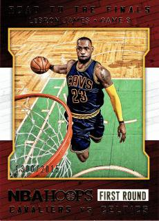 2015-16 PANINI HOOPS Road to the Finals LeBron James 【2015枚限定】 / MINT立川店 USGファン様