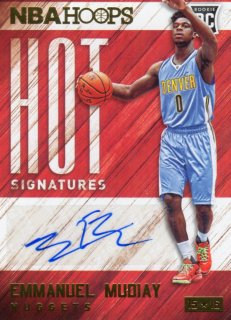 15-16 PANINI HOOPS RC HOT Signaturs Card Emmanuel Mudiay MINT梅田店 田島島芽瑠様