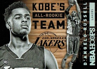 15-16 HOOPS All-Rookie Team Kobe Bryant / D'Angelo Russell えびすスポーツカード CP1様