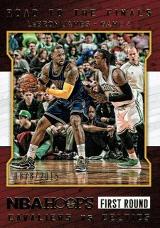 15-16 HOOPS Road To The Finals LeBron James えびすスポーツカード CP4様