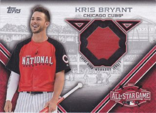 2015 Topps Update Kris Bryant All-Star Game Jersey card /ポニーランド M様