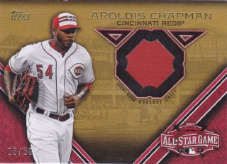 2015 Topps Update Aroldis Chapman All-Star Game Jersey card 50枚限定 /ポニーランド M様