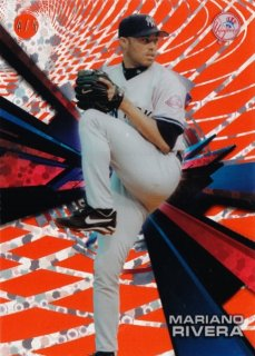 2015 Topps High Tek Mariano Rivera Red Orbit Diffractor【5枚限定】ミント札幌店 よし様