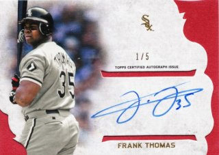 2015 Topps Supreme Frank Thomas Styling Supreme Autograph Red【5枚限定】札幌店 よし様