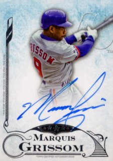 2015 TOPPS FIVE STAR Autograph Marquis Grissom 福岡店 アイスマン様