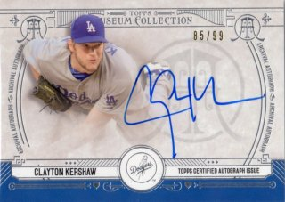 2015 Topps Museum Collection Archival Autograph Card Clayton Kershaw 【99枚限定】 梅田店 ディック様