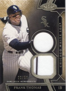 2015 Topps Tier One Relics Card Frank Thomas 【50枚限定】 梅田店 ディック様
