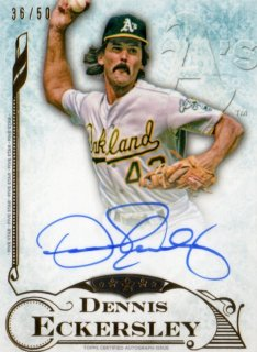 2015 TOPPS FIVE STAR Autograph Dennis Eckersley【50枚限定】福岡店 RVP様