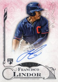 2015 TOPPS FIVE STAR Autograph Francisco Lindor 福岡店 RVP様