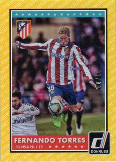 PANINI 2015 DONRUSS Gold Parallel Card F.Torres 【10枚限定】 神田店 駿河様