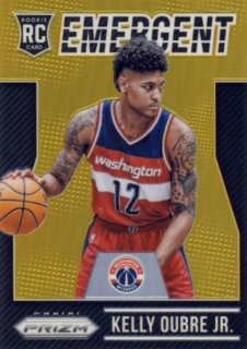 2015-16 PANINI PRIZM Emergent Gold Prizm Kelly Oubre Jr. 【10枚限定】Rookie Star RS23様