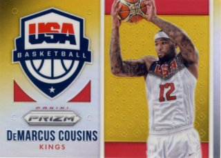2015-16 PANINI PRIZM USA Gold Prizm DeMarcus Cousins 【10枚限定】Rookie Star RS51様