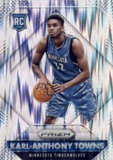2015-16 PANINI PRIZM RC Flash Prizm Karl-Anthony Towns Rookie Star RS52様