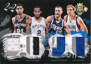 2015-16 PANINI TOTALLY CERTIFIED Patch Duncan Leonard Parsons  Nowitzki 【25枚限定】Rookie Star RS3様