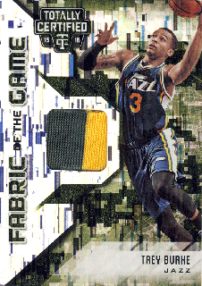 2015-16 PANINI TOTALLY CERTIFIED Camo Patch Trey Burke【25枚限定】 Rookie Star RS4様