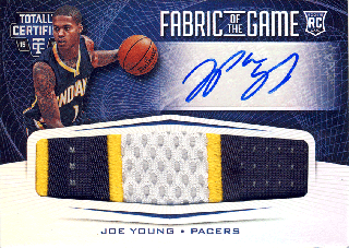 2015-16 PANINI TOTALLY CERTIFIED RC Patch Auto Joe Young 【25枚限定】Rookie Star RS4様