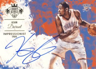 2015-16 PANINI COURT KINGS Auto Kevin Durant 【49枚限定】Rookie Star RS9様