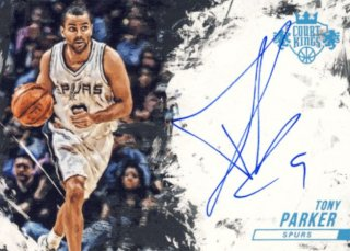2015-16 PANINI COURT KINGS Auto Tony Parker【25枚限定】 Rookie Star RS9様
