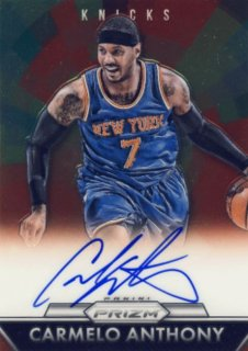 2015-16 PANINI PRIZM Auto Carmelo Anthony 【103枚限定】Rookie Star RS9様