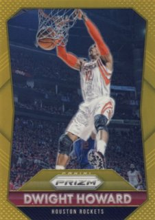 2015-16 PANINI PRIZM Gold Dwight Howard【10枚限定】 Rookie Star RS9様