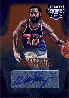 2015-16 PANINI TOTALLY CERTIFIED Auto Walt Frazier【25枚限定】 Rookie Star RS13様