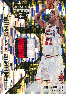 2015-16 PANINI TOTALLY CERTIFIED Camo Patch Jimmy Butler 【25枚限定】Rookie Star RS17様