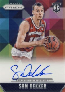 2015-16 PANINI PRIZM Prizm Auto Sam Dekker【25枚限定】 Rookie Star RS21様