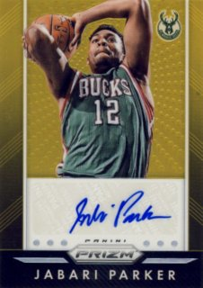 2015-16 PANINI PRIZM Gold Auto Jabari Parker 【10枚限定】Rookie Star RS22様