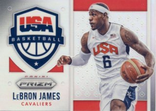2015-16 PANINI PRIZM USA Prizm LeBron James Rookie Star RS22様