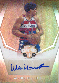2015-16 PANINI TOTALLY CERTIFIED Gold Auto Wes Unseld 【10枚限定】Rookie Star RS22様