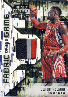 2015-16 PANINI TOTALLY CERTIFIED Camo Patch Dwight Howard【25枚限定】 Rookie Star RS28様
