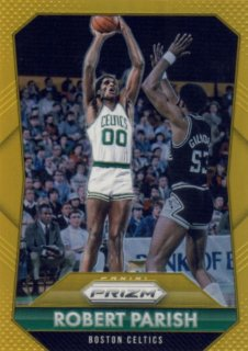 2015-16 PANINI PRIZM Gold Robert Parish【10枚限定】 Rookie Star RS29様