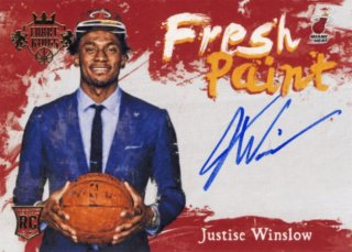 2015-16 PANINI TOTALLY Auto Justise Winslow Rookie Star RS57様
