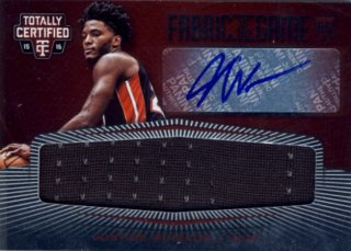2015-16 PANINI TOTALLY CERTIFIED Jersey Auto Justise Winslow 【49枚限定】Rookie Star RS57様