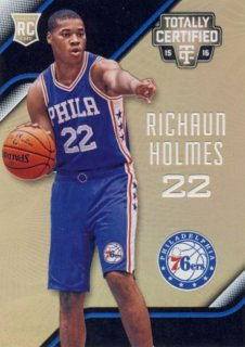 2015-16 PANINI TOTALLY CERTIFIED RC Gold Richaun Holmes【10枚限定】 Rookie Star RS57様