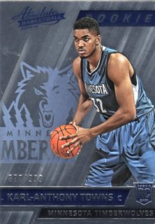 15-16 Panini Absolute Base Parallel Card Karl-Anthony Towns 【999枚限定】 MINT梅田店 KB様