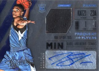 15-16 Panini Absolute Frequent Flyer Material Card Karl-Anthony Towns 【149枚限定】 MINT梅田店 ディック様