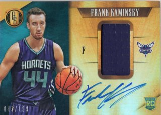 15-16 Panini Gold Standard Rookie Jersey Autograph Card Frank Kaminsky 【199枚限定】 MINT梅田店 ディック様