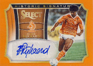 PANINI SELECT Orange Auto Ruud Gullit【49枚限定】 Rookie Star RS65様