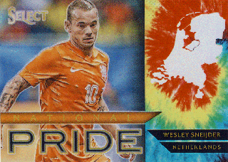 2015-16 PANINI SELECT Tye-Die Wesley Sneijder 【30枚限定】Rookie Star RS66様