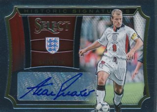 2015-16 PANINI SELECT Auto Alan Shearer 【186枚限定】Rookie Star RS67様