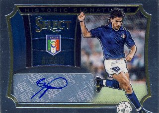 2015-16 PANINI SELECT Auto Roberto Baggio 【125枚限定】Rookie Star RS31様